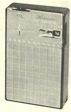 1962 RIVIERA RV62 RADIO SERVICE MANUAL SCHEMATIC REPAIR PHOTOFACT DIAGRAM