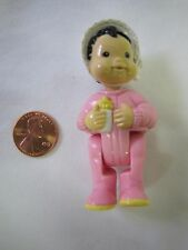 FISHER PRICE Loving Family Dream Dollhouse ASIAN BABY INFANT DOLL in PINK Rare!