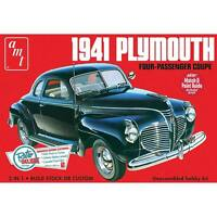 AMT 1941 Plymouth Coupe 1:25 scale model car kit new 919
