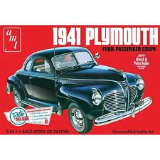 AMT 1941 Plymouth Coupe 1/25 model car kit new 919