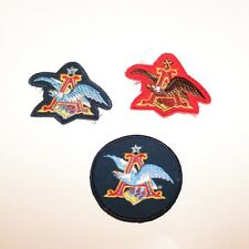 Anheuser Busch Patches - Eagle - Lot of 3