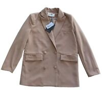 4th & Reckless Pascal Blazer in Tan - Size 6 - Brand New With Tags
