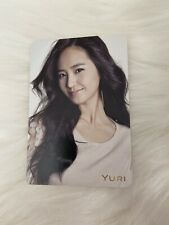 SNSD Yuri Genie Japan Jp Official Photocard Card Girls Generation Kpop K-pop