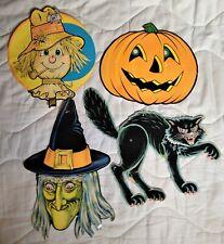 Vintage 1970's Beistle Halloween Decorations Lot