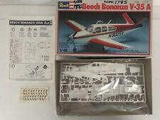 Rare Revell Beech Bonanza V-35A Aircraft Model Kit-No.H-4115 Contents Sealed (58
