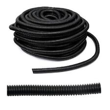 "100 Ft 3/8"" Split Wire Loom Cable Conduit Polyethylene Tubing 100 Feet 3/8"""