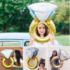 Lovely Diamond Ring Foil Helium Balloon Wedding Engagement Hen Party Décor