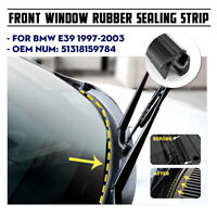 Front Windshield Moulding Trim Seal Weatherstrip For BMW 5 Series E39  **