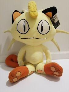 Pokemon Meowth Giant Plush 3ft Toy Game Freak 2011 Foam Filling NEW with Tag