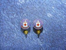 Agency Logo Lapel/Hat Pin Tie Tacks 2 ~ Usa Cia Central Intelligence