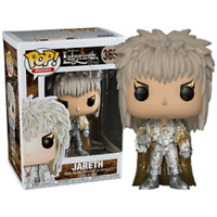 JARETH Glitter David Bowie with Orb FUNKO Pop Vinyl NEW in Mint Box + P/P