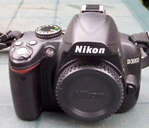 Nikon D D3000 10.2MP Digital SLR Camera - Black