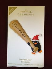 Hallmark Keepsake Ornament Baseball Star Personalize 2012