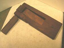 large antique wooden watchmans alarm rattle