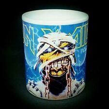tazza mug music IRON MAIDEN powerslave, rock metal scodella ceramica