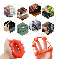Hand Grip Strengthener Exercise Rings & Finger Extensor Resistance Loop
