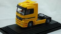 Rare Yellow Mercedes Benz ACTROS 1843 Tractor Articulated Lorry Toy Model Truck