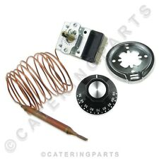 More details for universal hot cupboard / bain marie / plate warmer heated display thermostat kit