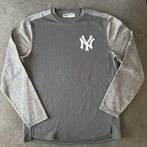 NEW YORK YANKEES. MAJESTIC Premium Therma Base Fleece Sweatshirt MLB Base NWOT