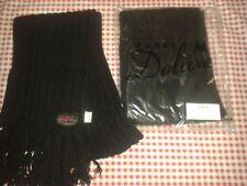 VELVET KITTEN Pussy Deluxe Schal, schwarz, Zopfmuster