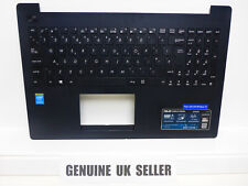 WORKING ASUS F553M X553M Black Palmrest with UK Keyboard 13NB04X1AP0821 (Lan515)
