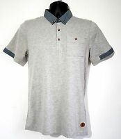 Men's Brave Soul Fashion Polo Shirt T Shirt Top Smart Casual Pocket  S/M/L £10