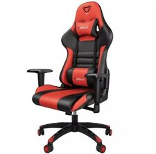 Office Gaming Computer Chair Comfortable PU Leather 180 Degree Racing