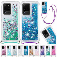 For Samsung S9 S10 S20+ S20 Note 20 Ultra Bling Case Soft Rubber Quicksand Cover