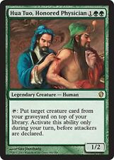 HUA TUO HONORED PHYSICIAN NM mtg Commander 2013 Green - Legendary Human Rare