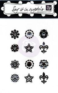 "Prima Marketing - Say it in Crystals "" Acrylic Gemstone Flower Centers"" 521974"