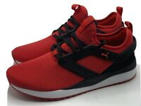 Puma Soft Foam Pacer Next Excel Mesh Shoes Red/Black Size US 10.5 New in Box!