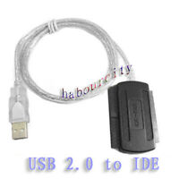 USB 2.0 to IDE DVD/CD-Rom 2.5 3.5 hard disk HDD Cable