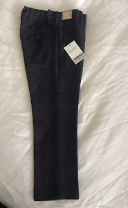 Next Boys Smart Navy Suit Trousers Size 5 Years BNWT