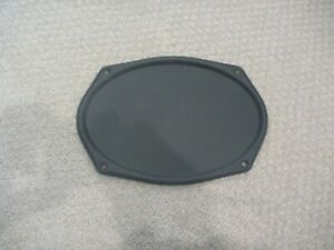 """64 65 GM NOS Chevy Chevelle 6 """" x 9*"""" Oval Rear Speaker Cover"""