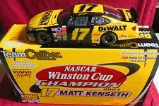 MATT KENSETH, 124 TEAM CALIBER 2003 WINSTON CUP CHAMPION, #17, DEWALT,