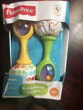 Fisher Price Rattle 'n Rock Maracas Rattles Baby Developmental Toy Shelfwear