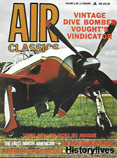 Air Classics Feb 70 Vought Vindicator Gee Bee South Pole Douglas Flying Boat