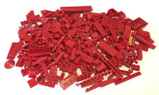 LEGO Red Bricks Mixed Bulk Lot 100s of Pieces GOOD VARIETY of Parts Plates Tiles
