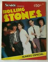 SONIDO REVISTA MUSICAL No SPECIAL SEPTEMBER 1981 DEDICATED TO THE ROLLING STONES