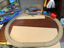 "Thomas & Friends TrackMaster ""Thomas Rides The Rails"" Starter Set Train And Car"
