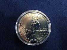 2012 Canada $5.00 Cougar Maple Leaf BU One Ounce .9999  E6109
