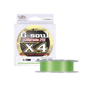 YGK G-Soul X4 Upgrade Angelschnur 150m Grün Angelsehne Schnur Leine Angelsehne