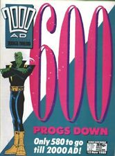 2000AD Prog 601-700 Judge Dredd All 100 Issues + new comic bags and boards