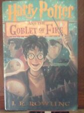 Harry Potter & the Goblet of Fire 1st print 1st american edition book Rowling