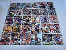2004 NRL HOT SHOT Tazo FULL SET 30 Cards - 15 Teams X 2 players each