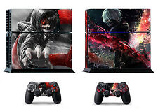 Tokyo Ghoul Ken 397 Skin Sticker Sony PS4 PlayStation 4 and 2 controller skins