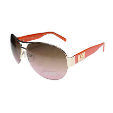 Occhiali da sole da donna aviator con lenti in marrone 100% UV