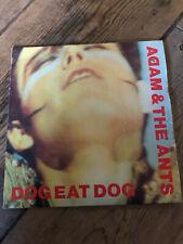 """Adam & The Ants - Dog Eat Dog 7"""" OG orange label pressing"""