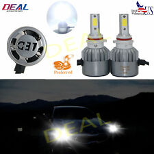 2pcs P13W/Psx26W 6000K White 7200Lm Led Cob Head Light Fog Drl Lamp Bulbs Pair