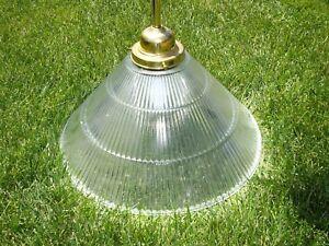 Hudson Valley Lighting Edison 1-Light Pendant Ribbed Glass SHade BRASS 19-SN-R15